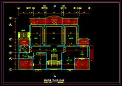 نقشه معماری ویلایی دوبلکس بسیار خوش طرح