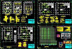 نقشه تاسیسات مكانیك مجتمع 75 واحدی 16 طبقه كامل با موتور خانه و اطفاع حریق و جداول تایید شده نظام مهندسی و سازمان آتش نشانی