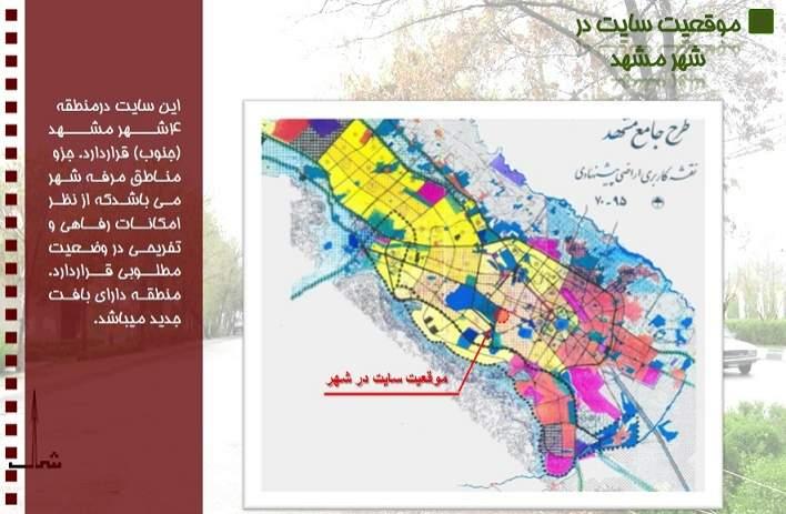 پاورپوینت آنالیز سایت در مشهد آنالیز سایت در مشهد