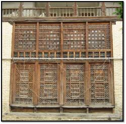 گره چینی گره چینی چوبی گرگان شیوه ساخت گره چینی گره چینی چوبی گرگان معماری گرگان گره چینی بناهای تاریخی گرگان