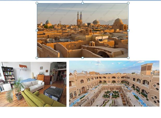 یزد معماری بومی یزد طراحی مسکن یزد با رویکرد بومی