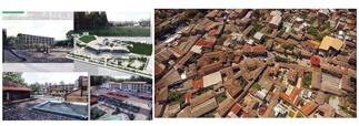 طراحی گردشگری توریس  گرگان معماری گرگان بافت گرگان